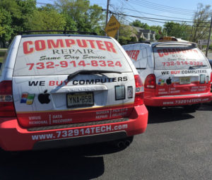 Computer Repair Same Day Onsite Service Trucks