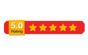 5 star customer review rating